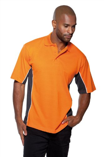 GameGear Gamegear ® Track Polo Black/ Yellow/ White