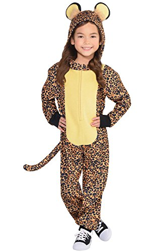 Amscan Dress Up Zipster Leopard ()