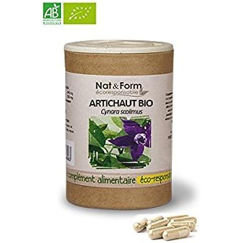 Atlantic Nature - Nat & Form Alcachofa Bio 80 cápsulas - 013185B5E3427 - 90 gélules