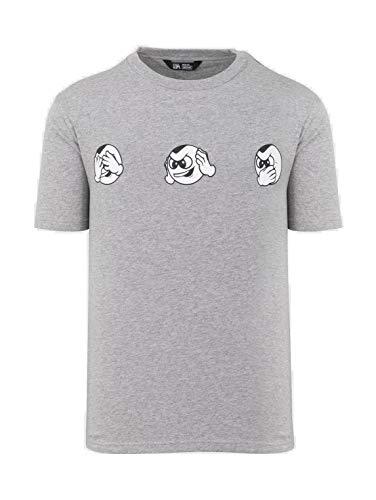 Unfair Athletics No Evil PB T-Shirt (M, Grau) - Athletic Track-t-shirt