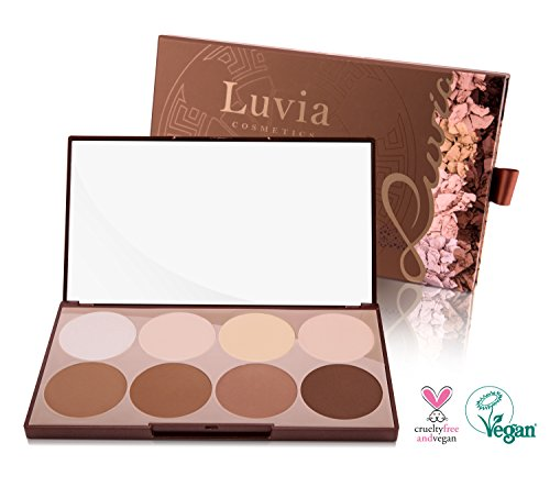 Luvia Cosmetics Contouring Palette – Prime Contour Mit Extra Leicht Verblendbarem Setting Powder,...