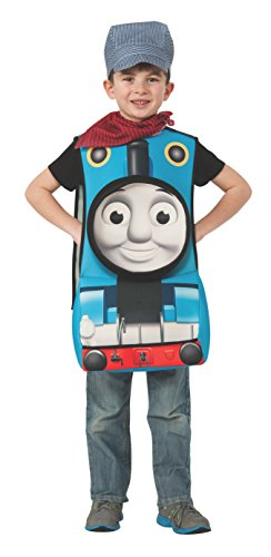 Rubies Thomas and Friends Deluxe 3D Thomas The Tank Engine Costume, Toddler by Rubie's (Thomas Das Tank-kostüm)