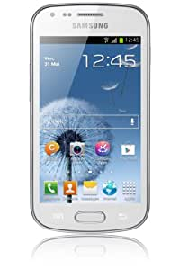 Samsung Galaxy Trend GT-S7560 Smartphone Ecran tactile 4'' (10,2 cm) Android 4.0.4 Ice Cream Sandwich Bluetooth Wi-Fi Blanc