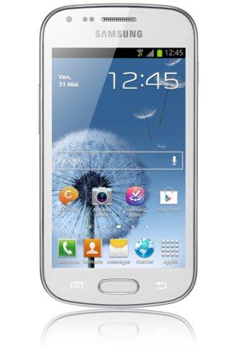 Samsung Galaxy Trend GT-S7560 Smartphone Ecran tactile 4'' (10,2 cm) Android 4.0.4 Ice Cream Sandwich Bluetooth Wi-Fi Blanc