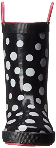 Kamik Confetti, Bottes mi-hauteur non doublées mixte enfant Noir - Schwarz (BLK-BLACK)