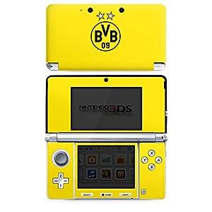 DeinDesign Skin kompatibel mit Nintendo 3 DS Aufkleber Sticker Folie BVB Borussia Dortmund Sterne