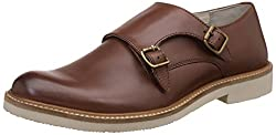 United Colors of Benetton Mens Brown (902) Leather Formal Shoes - 9 UK/India (43 EU)