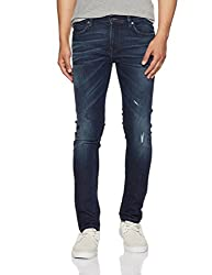 French Connection Mens Skinny Fit Jeans (54HIR_Navy_34W x 33L)