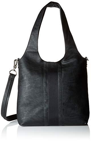 Esprit Accessoires Damen 088ea1o021 Tote, Schwarz (Black 2), 14x35x34 cm
