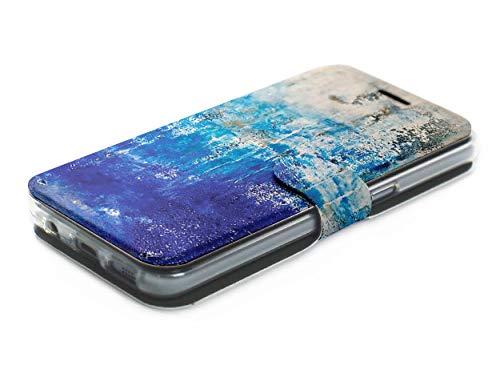 MOBIWEAR Book Style Handy Motiv Tasche Flip Case Cover Hülle für ASUS Zenfone Zoom S ZE553KL - MF01S