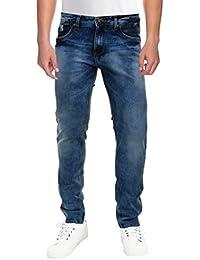 Raa Jeans Men's Slim Fit Jeans Raa022 Blue