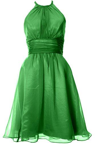 MACloth - Robe - Trapèze - Sans Manche - Femme Vert