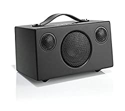 "Audio Pro ""Addon T3"" Bluetooth Stereo Wireless Speaker With Built In Subwoofer Compatible With Android, Apple & Windows Devices - Black"