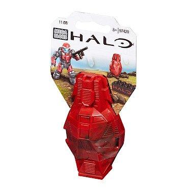 Mega Bloks Halo - Figura de Juguete de Color Rojo metálico ODST