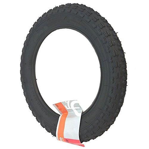 Prophete Fahrradreifen Reifen 24 x 1.75 City Schwarz mit Reflexstreifen, 6542