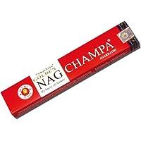 Golden Nag Champa - 15g Räucherstäbchen aus Indien - Vijayshree Fragrance preisvergleich bei billige-tabletten.eu
