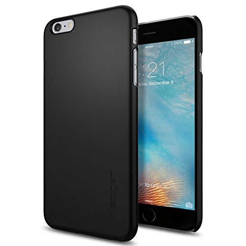 1f37eb07d31 Spigen iPhone 6S Plus Hülle, [Thin Fit] Passgenaues [Schwarz] Premium Hart