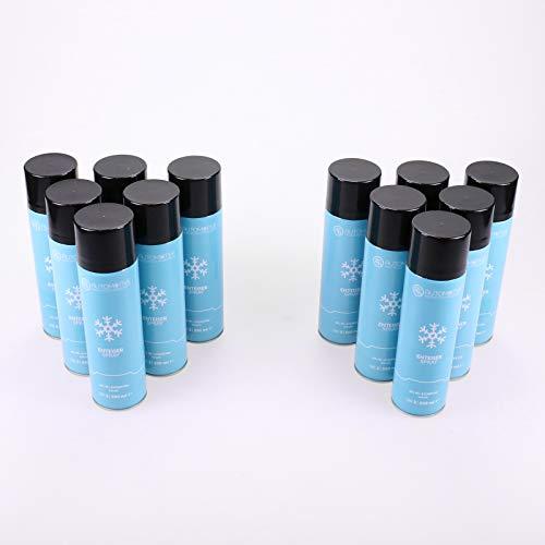 AG Automotive Scheibenenteiser Spraydose Entfrosterspray Enteiserspray 12x 500ml