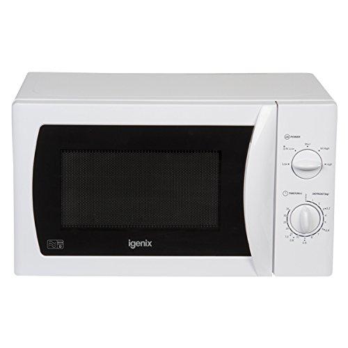 Igenix IG2008 20 L 800 W Manual Microwave - White