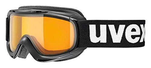 UVEX Kinder Skibrille Slider, schwarz (Black), One Size
