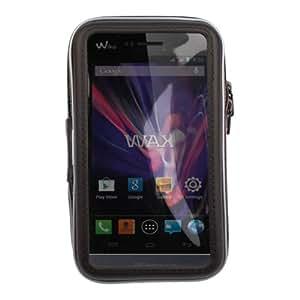"""Support et étui vélo / bicyclette résistant à l'eau pour smartphone Wiko Wax & Highway Signs Android 4.3 / 4.4 (écran 4,7"""") - fermeture éclair sécurisé"""