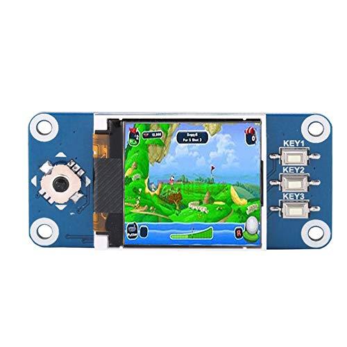 ASHATA 1.44 Zoll LCD Display, Raspberry Pi LCD Bildschirm HAT Erweiterung Platine,Tragbar 128 x 128 Auflösung LCD Display Modul für Raspberry Pi 2B/3B/Zero/Zero W Lcd-display-modul