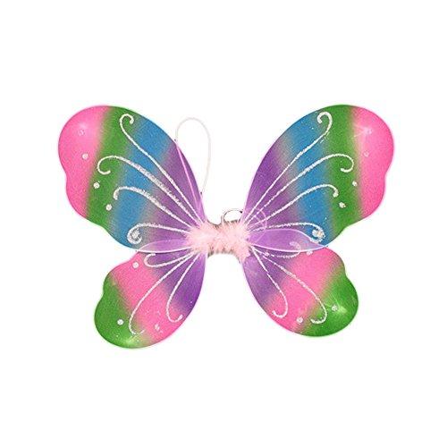 Blue Vessel Schmetterlings-Fee-Flügel-Rock-Partykleid -