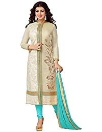 Best Deal In Amzone Prime With Sale Disount Offers By JKSM Women Straight Salwar Suits New Collection Beige &...