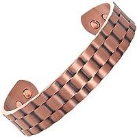 Reines Kupfer magnetisches Armband für Herren und Frauen. Natürliche Schmerzlinderung von Arthritis und Gelenkschmerzen preisvergleich bei billige-tabletten.eu