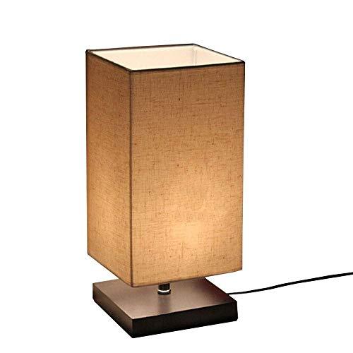 che Massivholz Tischlampe Nachttischlampe ()
