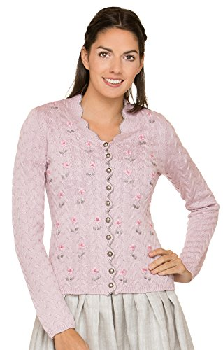 Stockerpoint Trachten Strickjacke Marlene Rose, 42