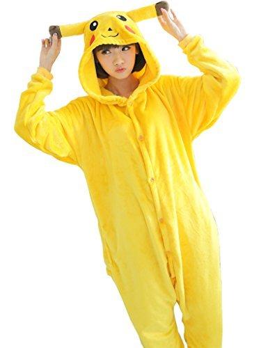 UDreamTime Costume de halloween Kigurumi Pajamas Cosplay Pyjamas Pikachu L