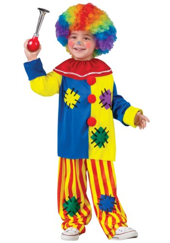 Toddler Big Top Clown Fancy dress costume Large - Big Top Circus Kostüm
