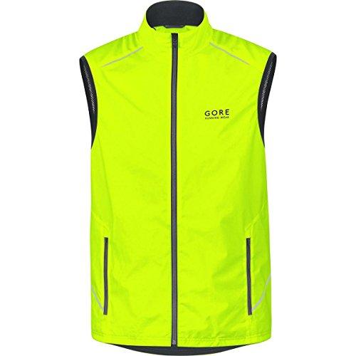 GORE WEAR Herren Weste Essential Windstopper Active Shell, Neon Yellow, M