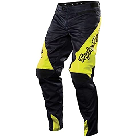 Troy Lee Designs Sprint - Pantalones de ciclismo para hombre, color gris, talla XL