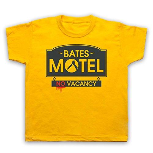 inspire-par-psycho-bates-motel-officieux-t-shirt-de-lenfant-jaune-5-6-years