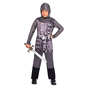 amscan Gallant Knight 4-6 Years Disfraz Color gris 9904108