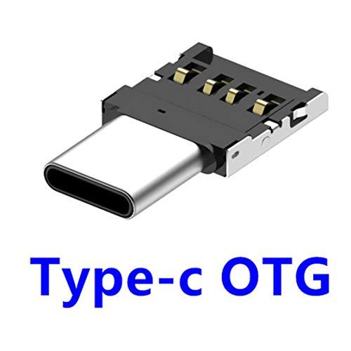 LouiseEvel215 Adaptador de conexión USB a tipo C OTG Multifunción Convertidor USB 2.0 hembra a Macho para PC de escritorio para computadora portátil Smartphone