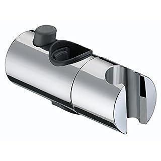 Bristan SLID101 C Slider Bracket 25mm - Chrome Plated