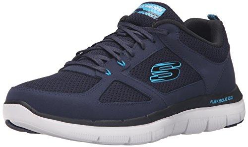 skechers-flex-advantage-20-zapatillas-hombre-azul-azul-nvbl-45-eu