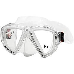 EnzoDate Optical Snorkeling Mask Lunettes De Plongée Correctrices Lunettes Bifocales Vue De Loin Lointaine Myopia Verre Trempé