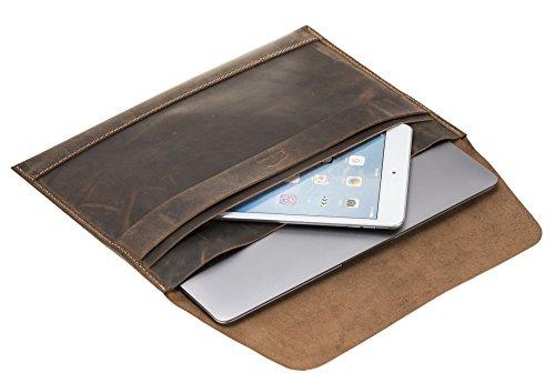 Solo Pelle MacBook Ledertasche/Lederhülle für das original MacBook Air 13,3 Zoll MacBook Pro 13 Zoll Ipad Pro 12,9 Zoll