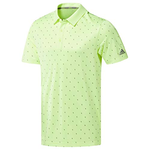 Medium Cone Top (adidas Herren Pine Cone Critter Printed Polo Shirt Poloshirt Gelb (Amarillo Dq2298) Medium)