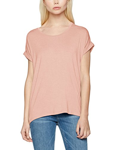 ONLY Damen onlMOSTER S/S O-Neck TOP NOOS JRS T-Shirt, Rosa Misty Rose, 38 (Herstellergröße: M) -