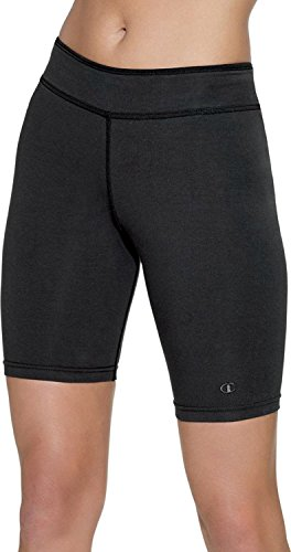 Champion Stretch-Cotton Fitted Women's Plus Shorts (Champion Shorts Spandex)