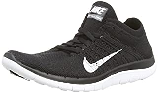 reputable site d6062 c9fdb Nike Free 4.0 Flyknit - Zapatillas para hombre, color negro  (black white-dark grey), talla 39 (5.5 ...