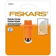 Fiskars Lames de rechange originales pour Cutter circulaire, Lame en acier aiguisé, Résultats de coupe optimaux, 1023905