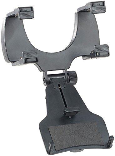 """Lescars Halterung: Universal-Kfz-Rückspiegelhalterung für Smartphones bis 12,7 cm (5"""") (Handyhalter Rückspiegel)"""