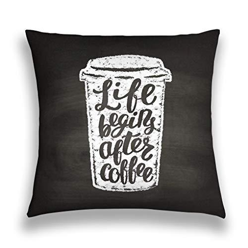 zexuandiy Throw Pillow Cushion Cover,Artful Modern Illustration,18