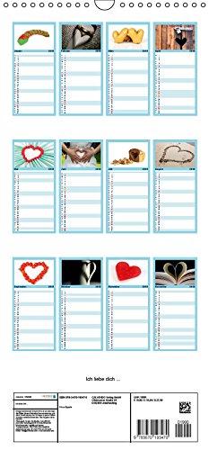 Ich liebe dich – Familienplaner hoch (Kalender, FAM)